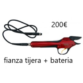 FIANZA TIJERA + BATERIA