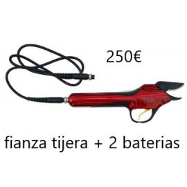 FIANZA TIJERA + 2 BATERIAS
